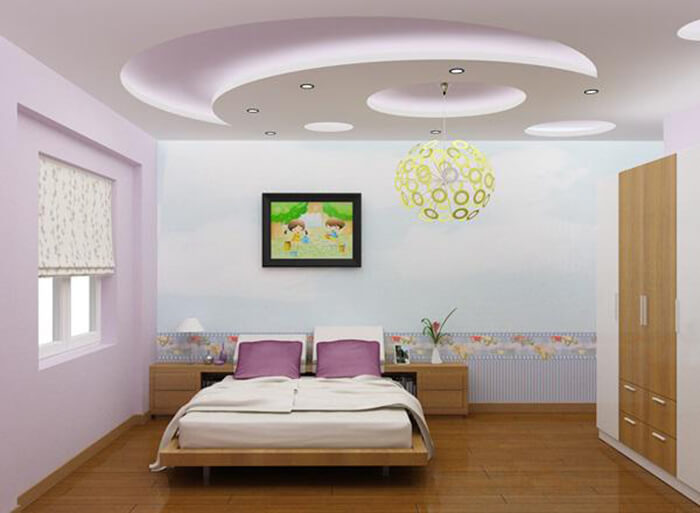 Những mẫu phòng ngủ đáng yêu dành cho bé gái