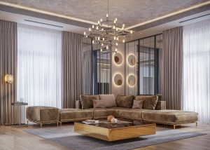 Căn hộ chung cư theo phong cách Luxury đẹp sang trọng hút hồn