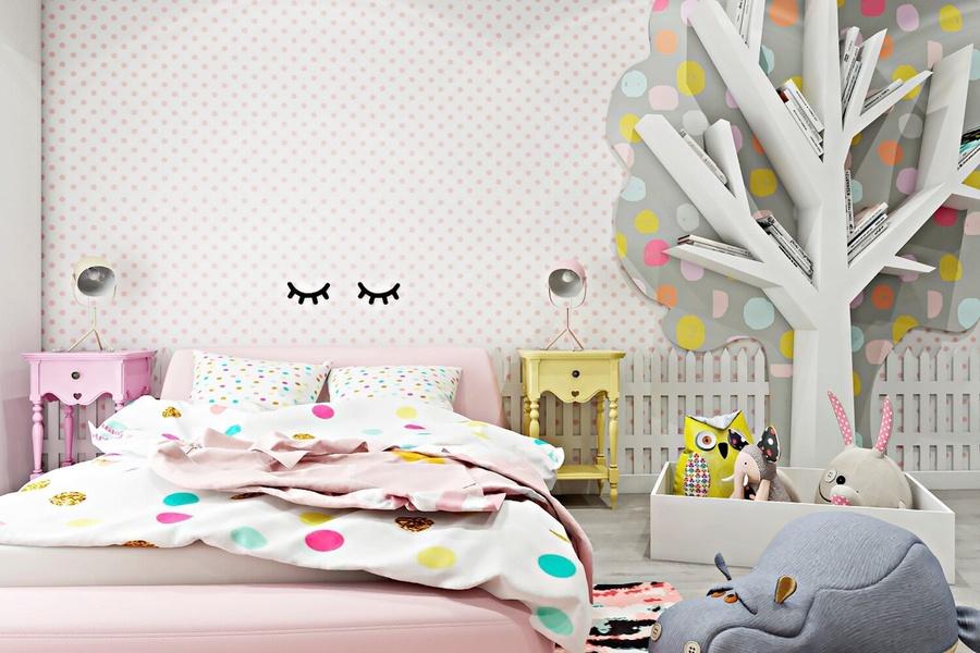 80+ mẫu thiết kế phòng ngủ cho bé gái đẹp độ tuổi 10-12-15 tuổi