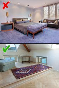 Những điều nên tránh khi thiết kế nội thất cho nhà bạn